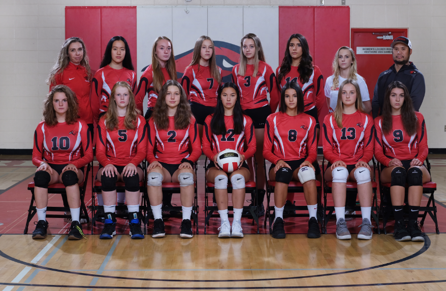 sr girls volleyball