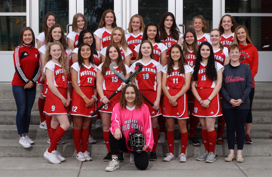 2019 Jr Field Hockey Team Photo