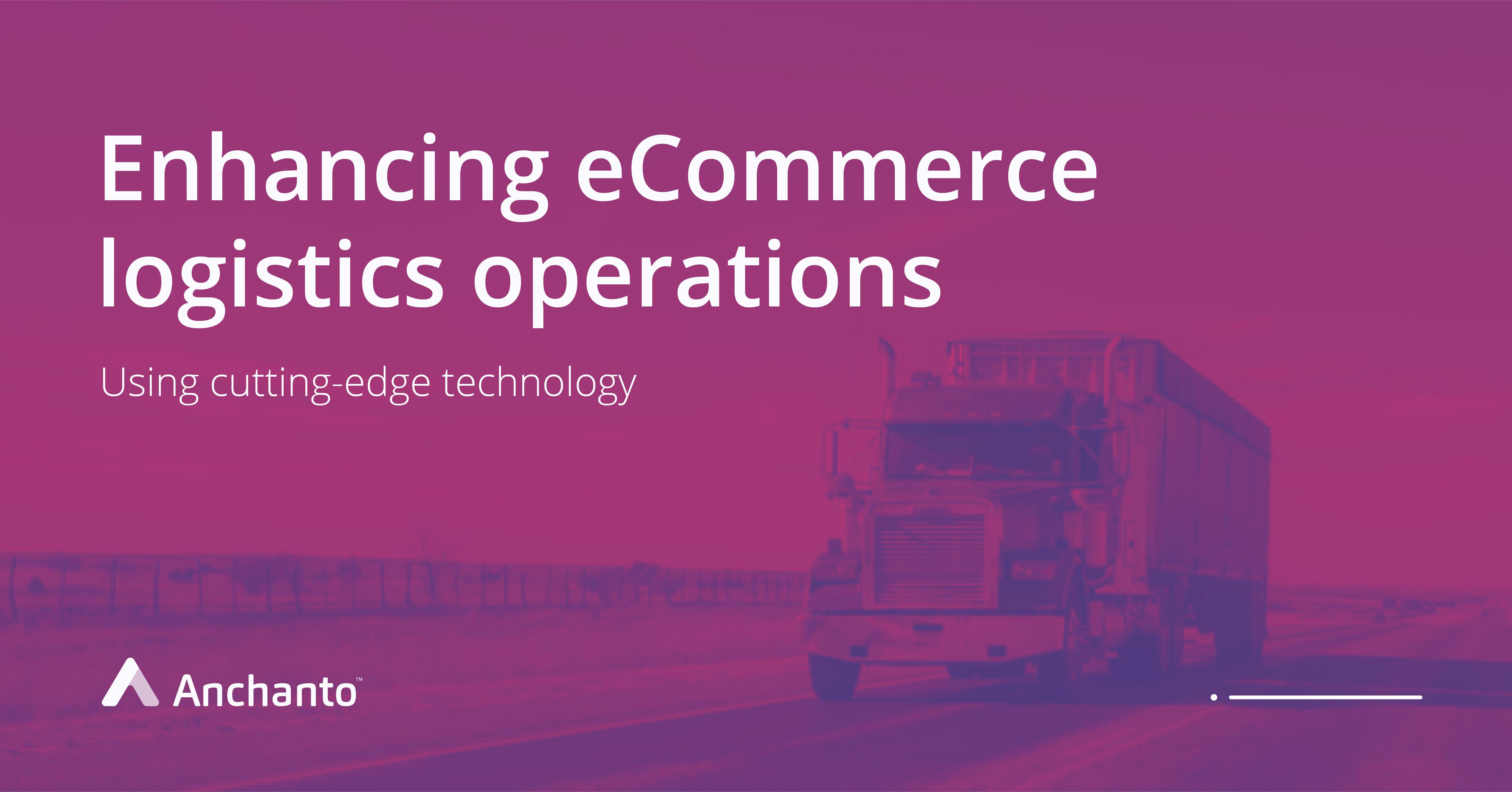 eCommerce logistic management