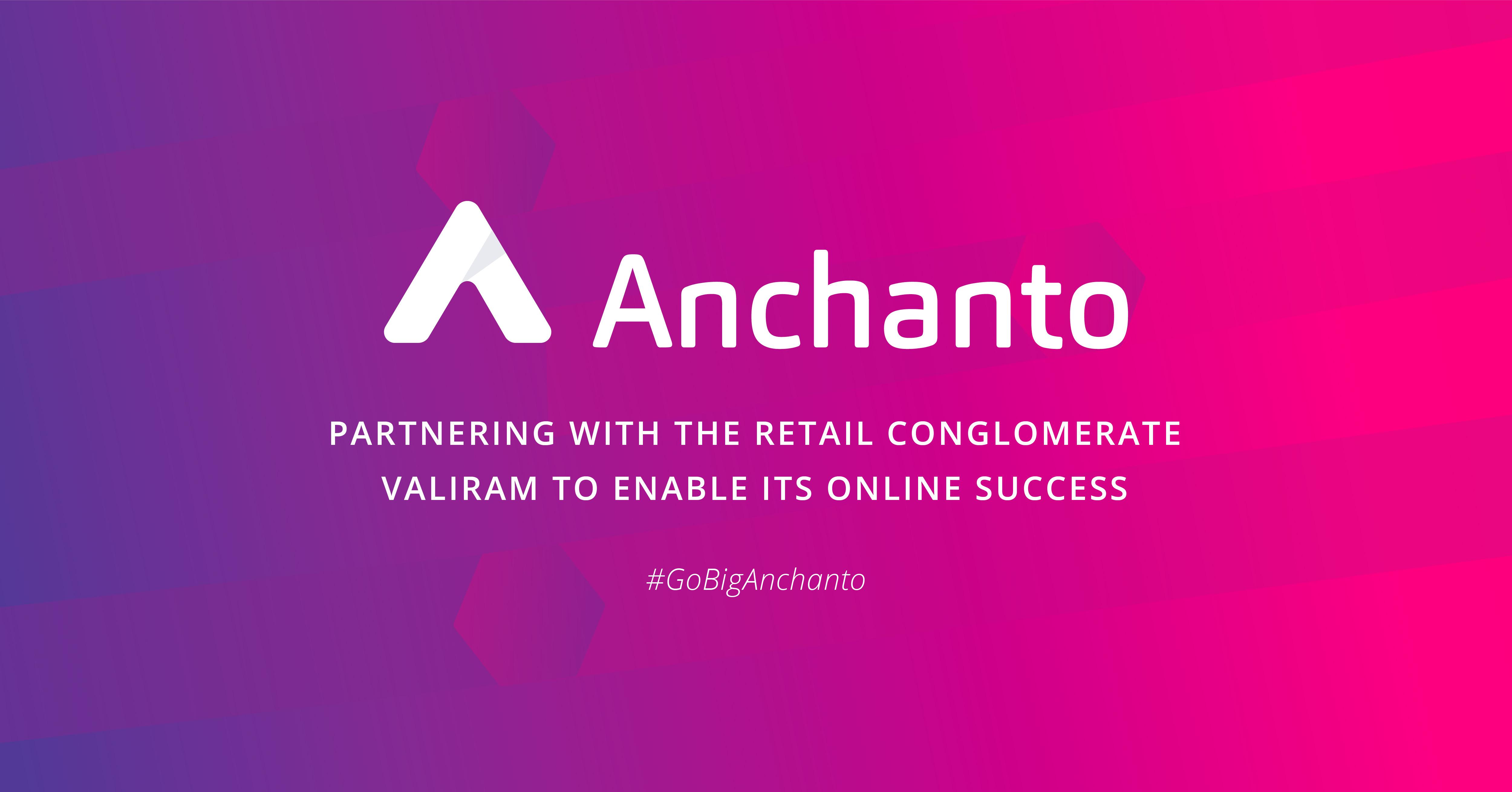 Valiram partners with Anchanto