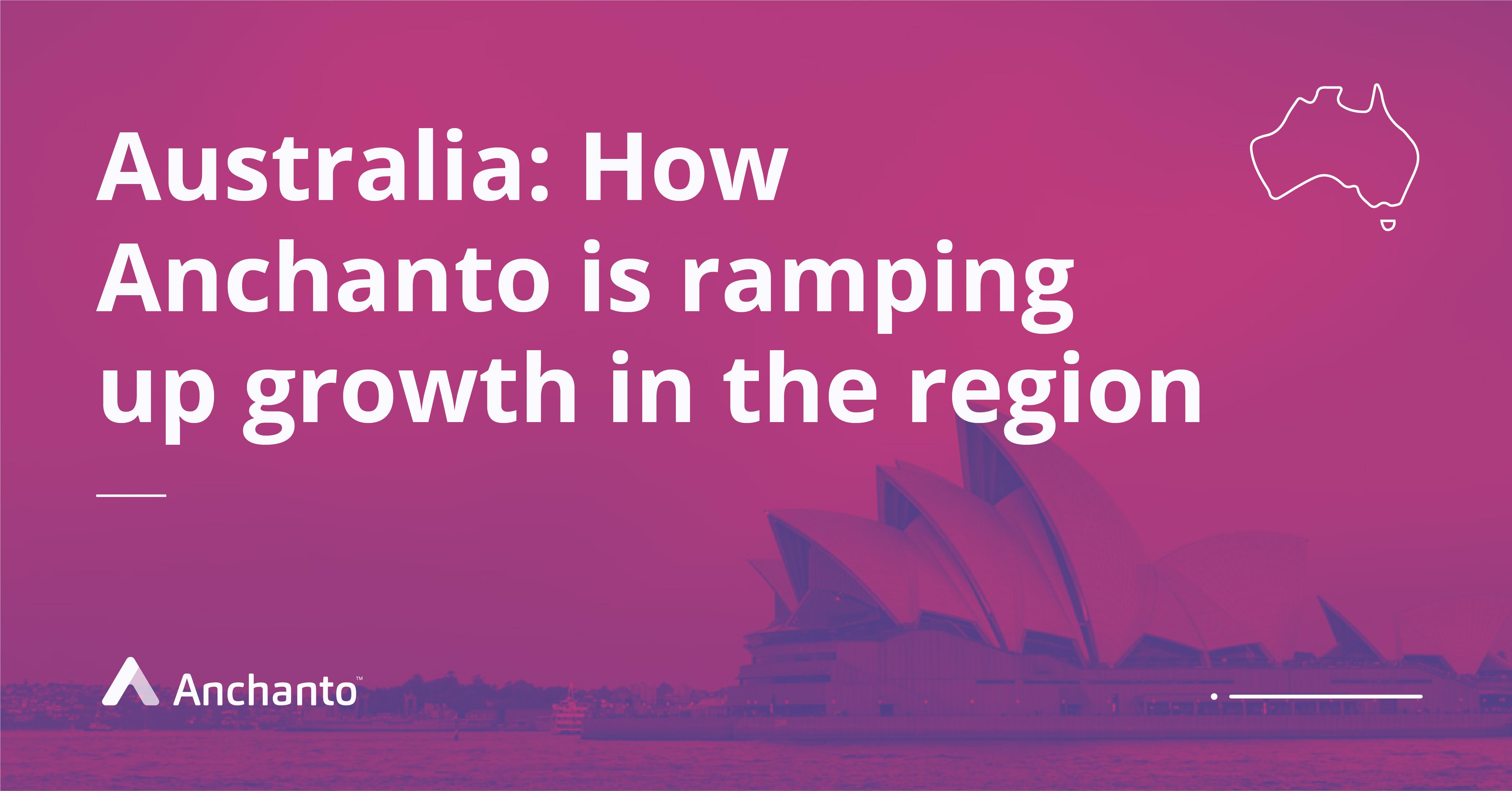 Anchanto in Australia