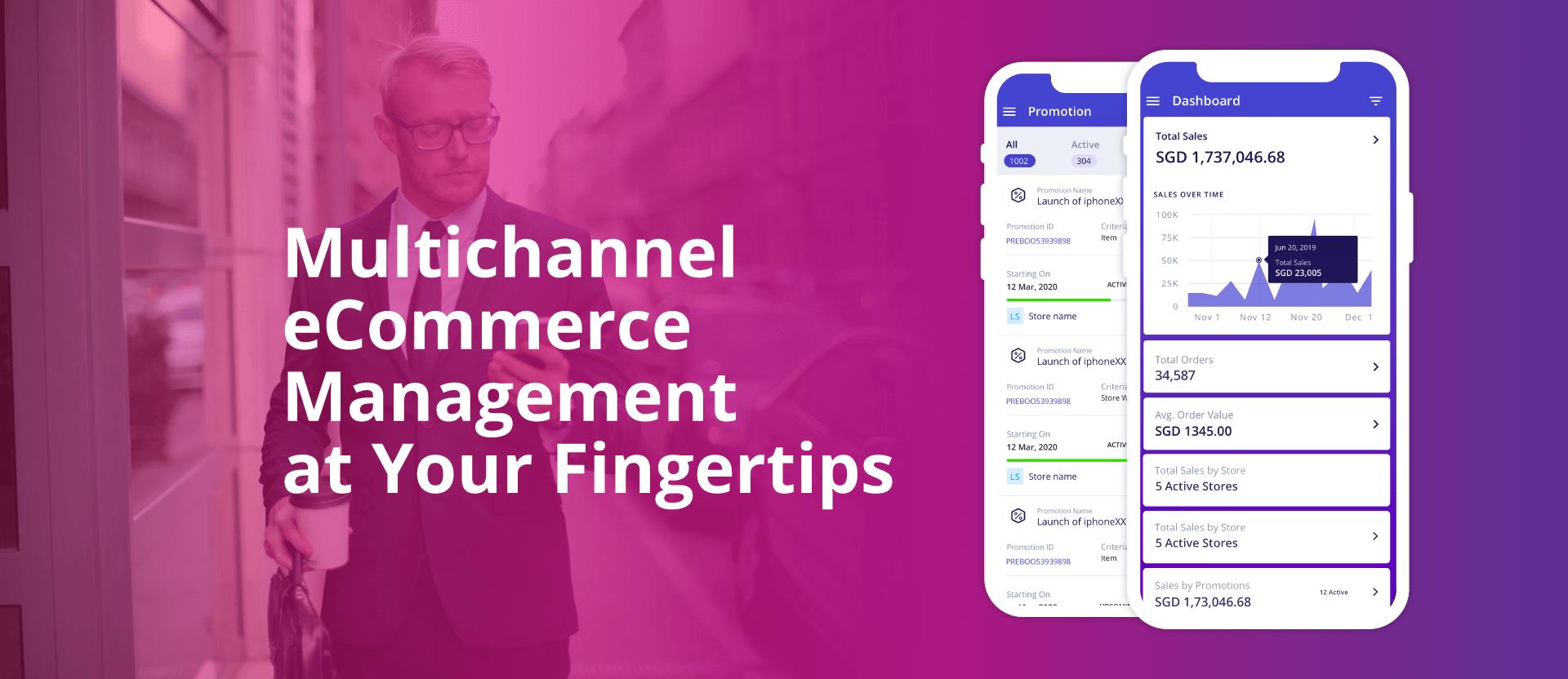 Multichannel ecommerce management