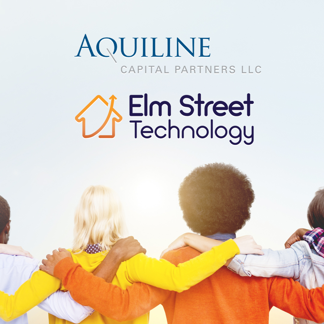 ELM STREET TECHNOLOGY SECURES STRATEGIC INVESTMENT BY AQUILINE CAPITAL PARTNERS
