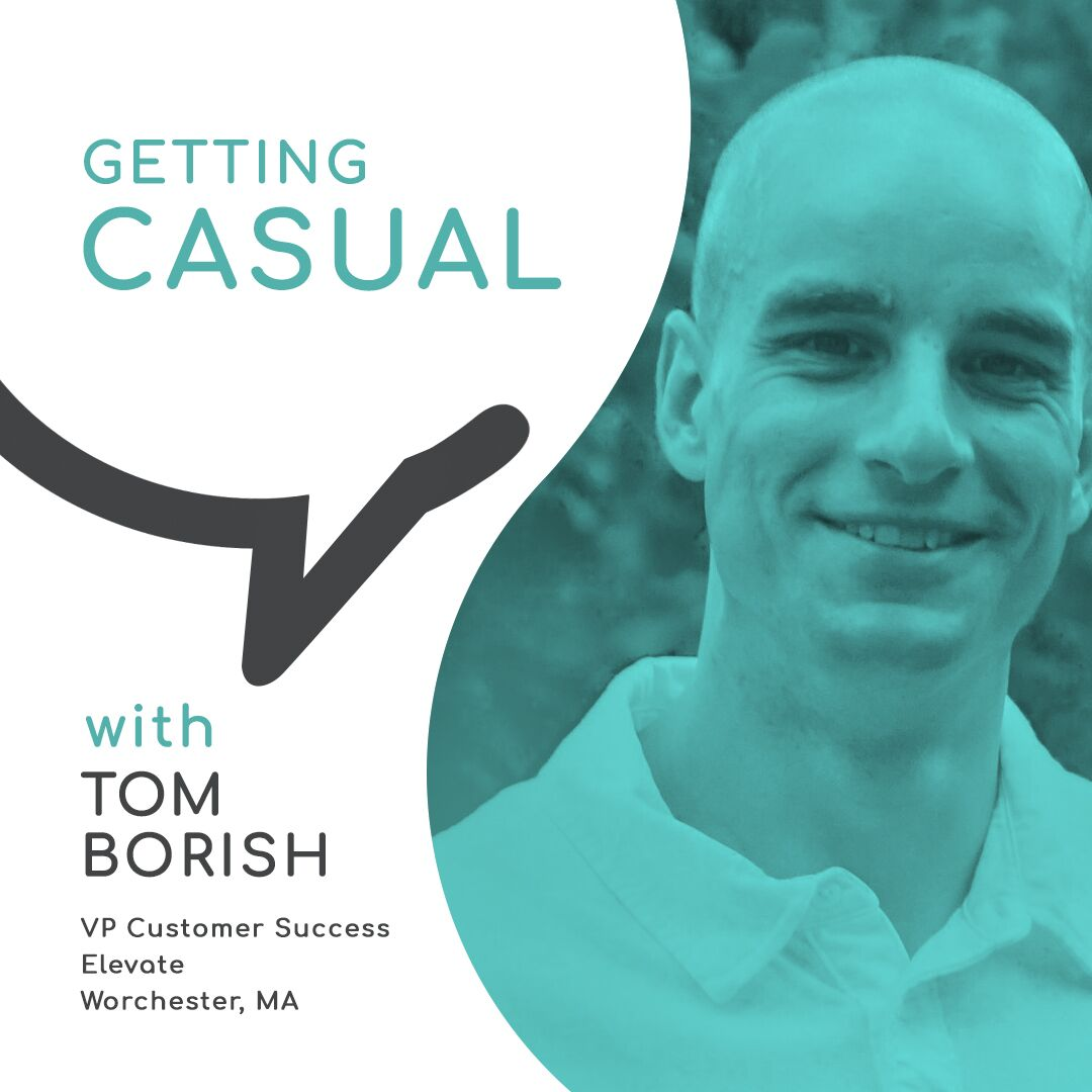 Casual Conversations:  Losing 12 lbs in One Day with Tom Borish