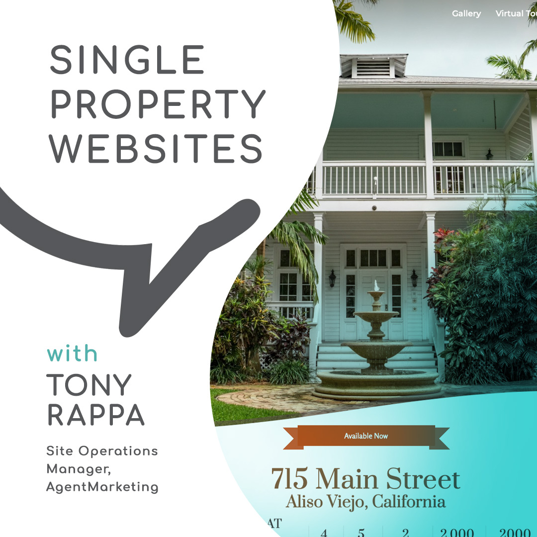 Casual Conversations | Single Property Websites with Tony Rappa