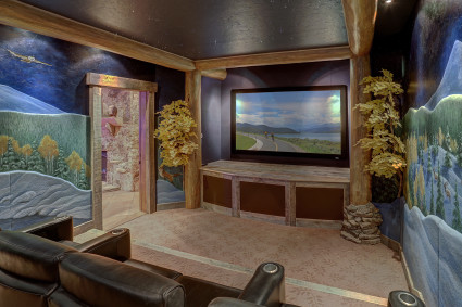 The Chateau Movie Room