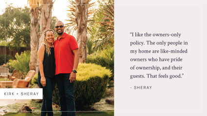 Kirk and Sheray quote on pacaso