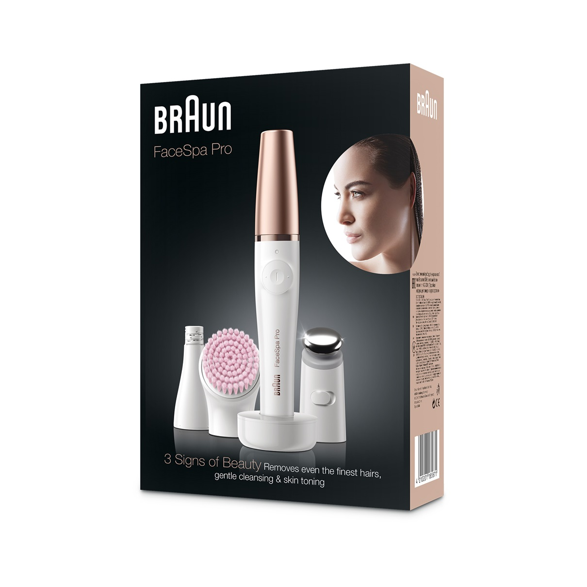 Braun FaceSpa Pro 912 - packaging
