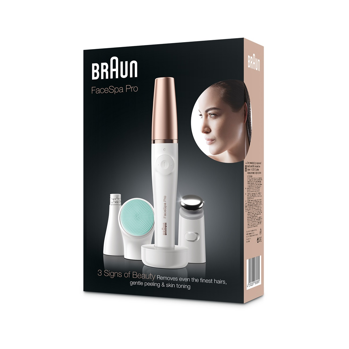 Braun FaceSpa Pro 913 - packaging