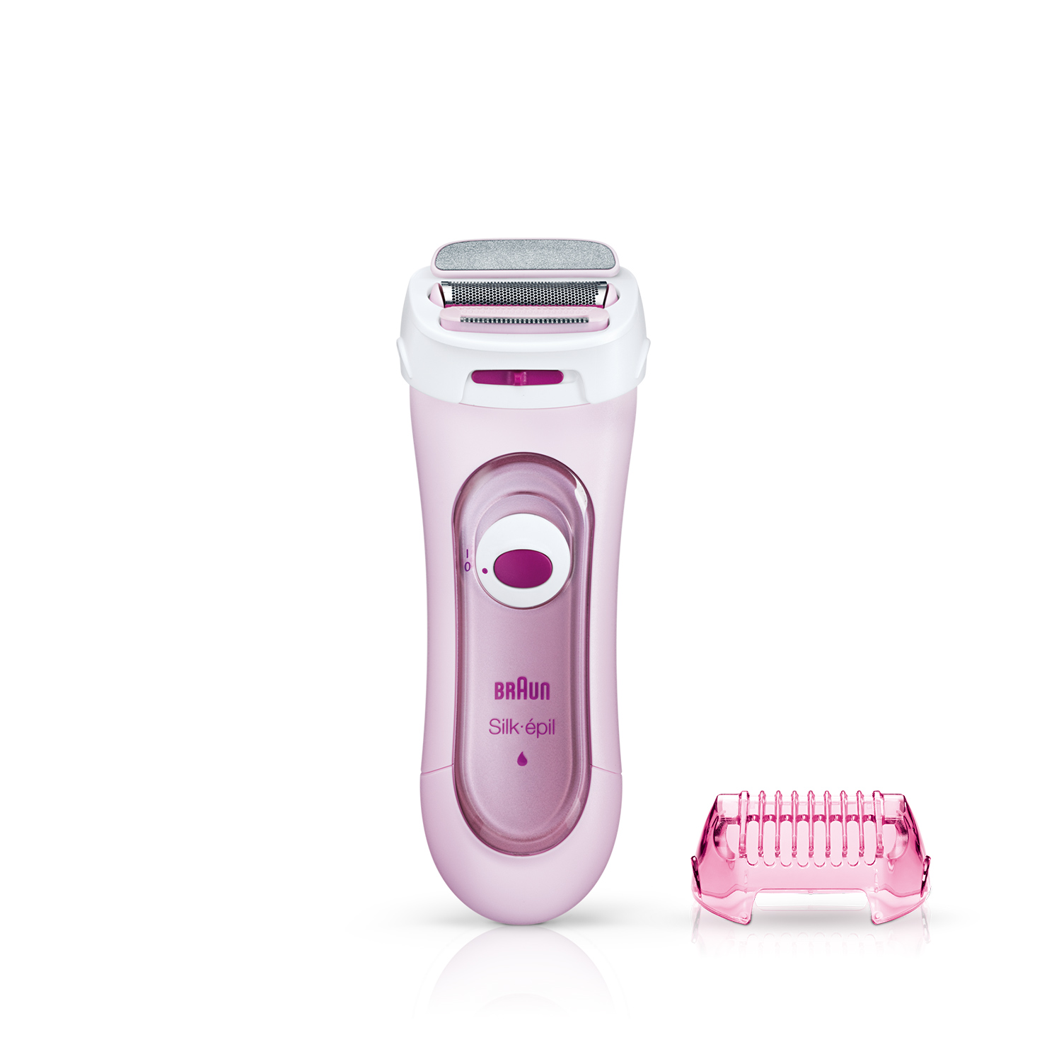 Braun Lady Shaver - 5360 Electric Shaver including Exfoliation Attachment