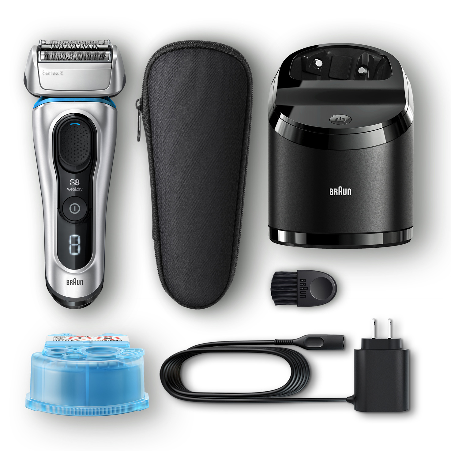 Series 8 8370cc shaver - What´s in the box