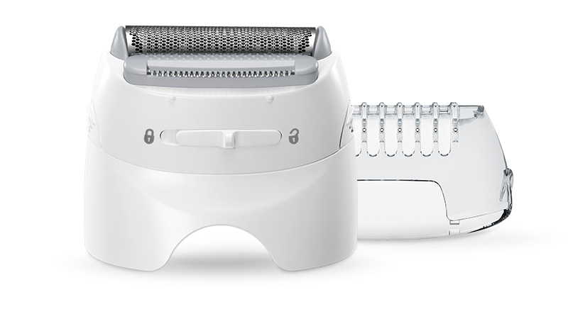 Braun Silk-épil 5 epilator with shaver head and trimmer head