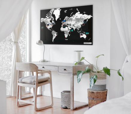 mapdid-Weltkarten sind besser als alle Weltkarten zum Rubbeln
