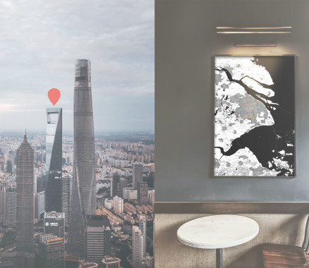 Shanghai-Poster gestalten