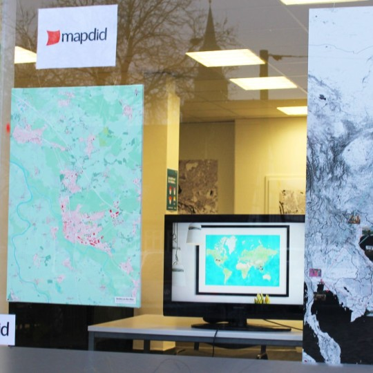 mapdid bei aboutcities.de - Pop-up Store mit 1001 Karte