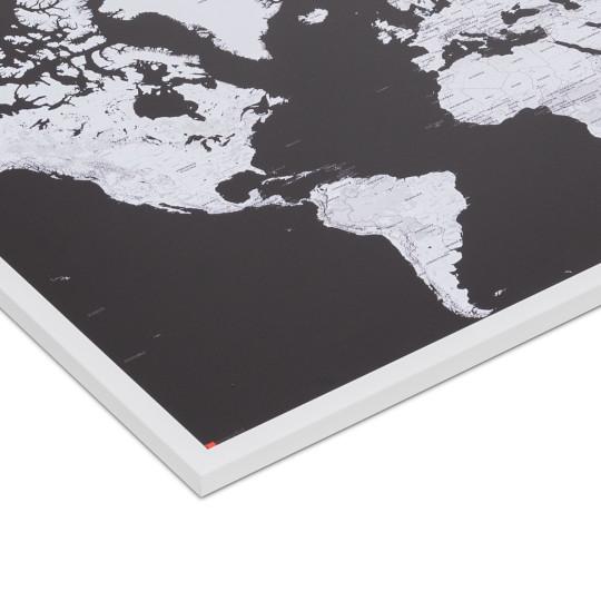 mapdid Landkarte im weißen Rahmen