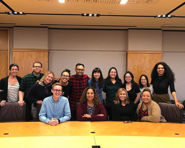 The NBCU TIPS Team and 2018 Writers on the Verge Participants