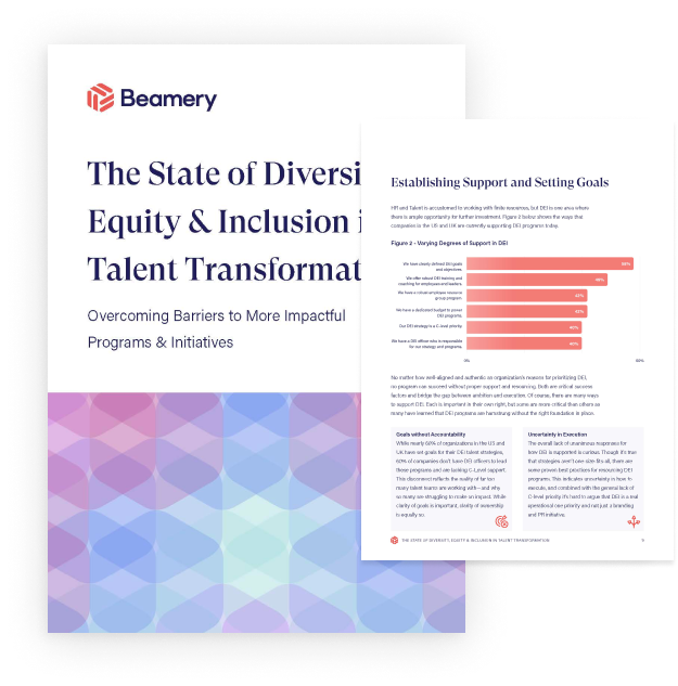 The State of Diversity, Equity & Inclusion in Talent Transformation