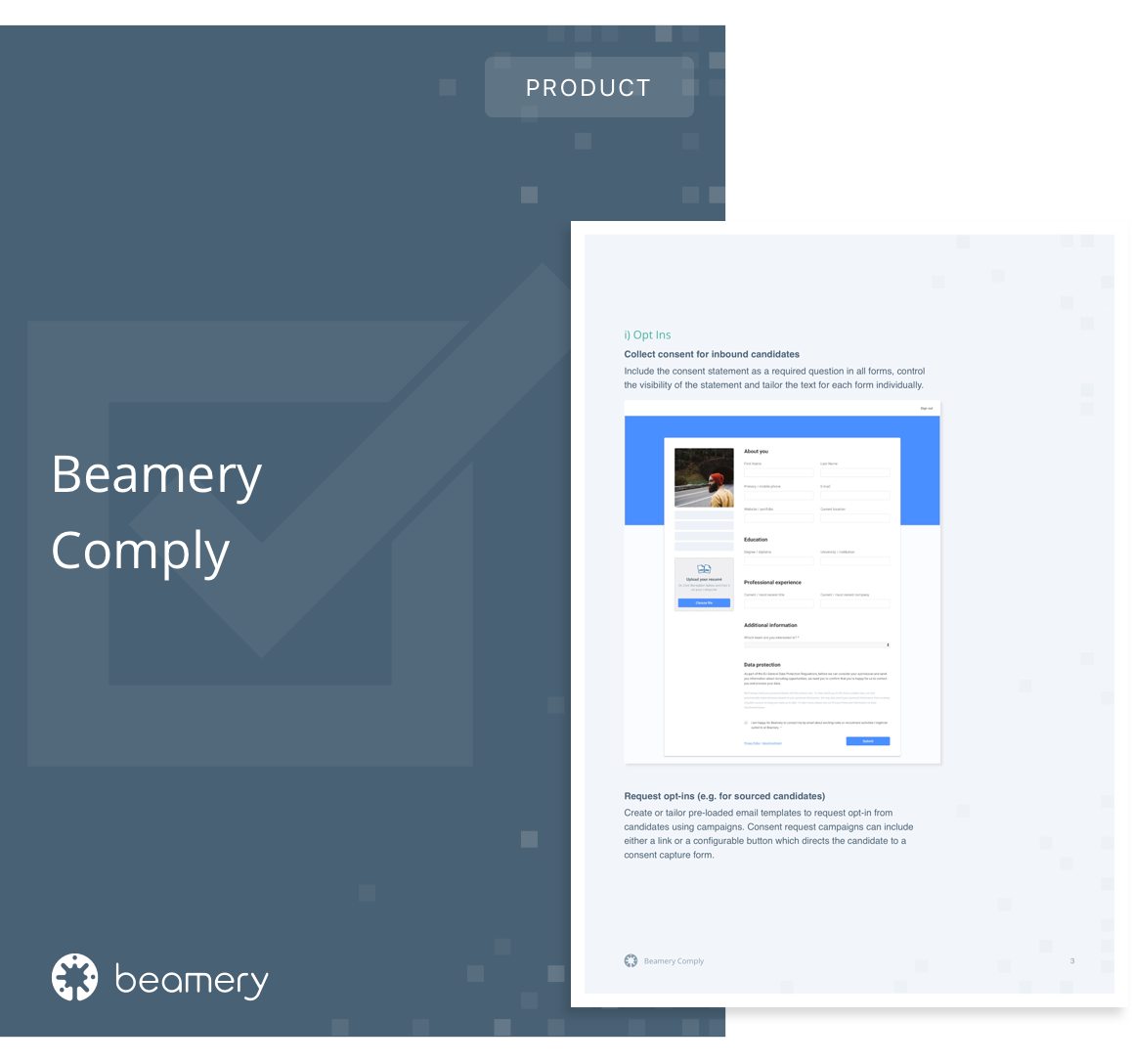 Beamery Comply Overview