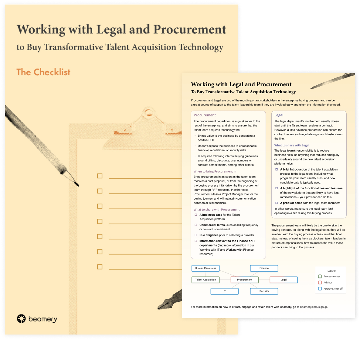 Working with Legal and Procurement to Buy Transformative Talent Acquisition Technology