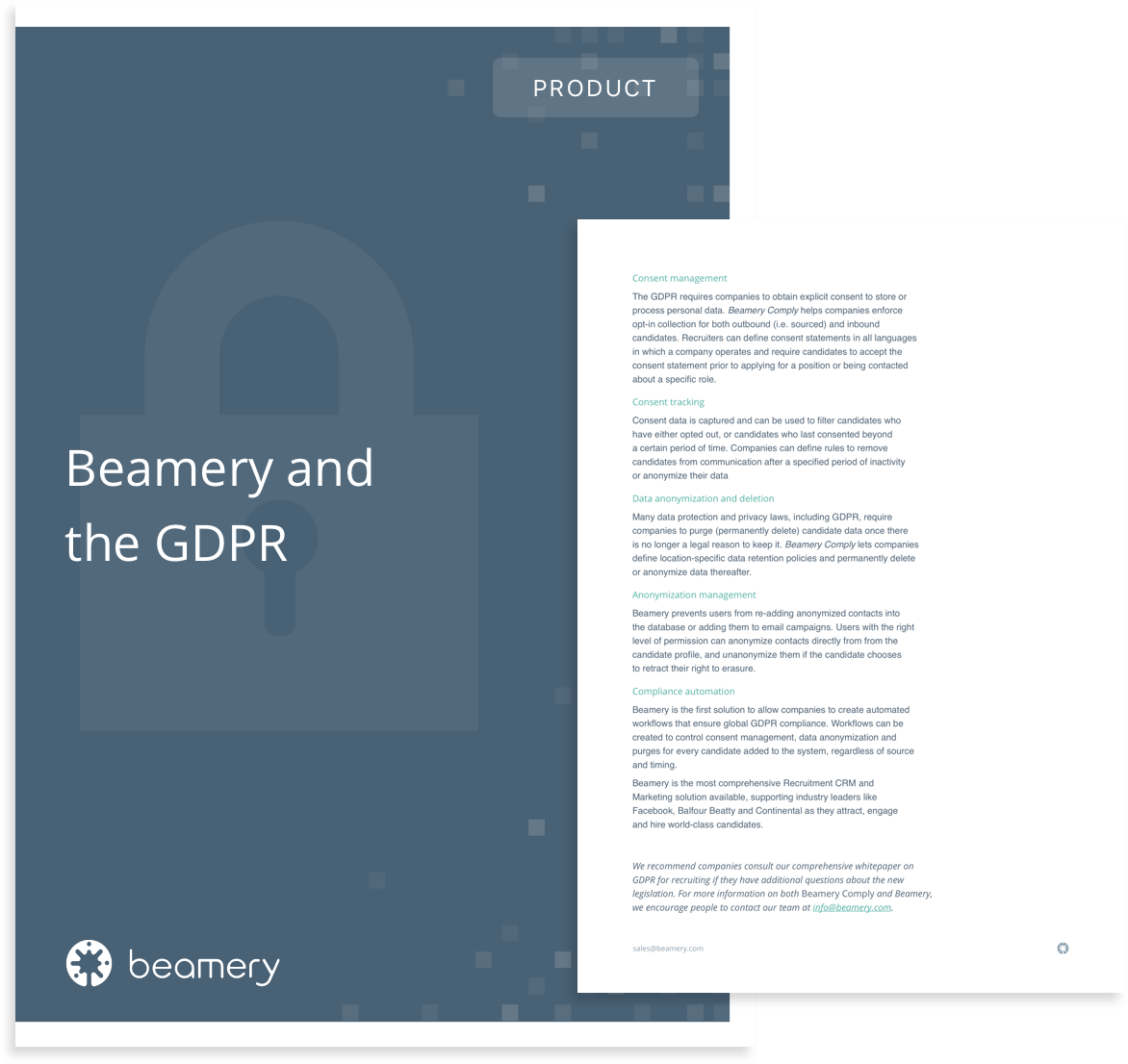 Beamery and the GDPR image