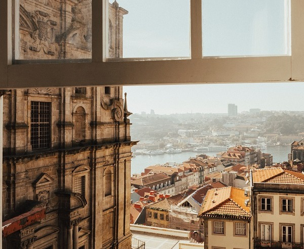 Porto view out of the window
