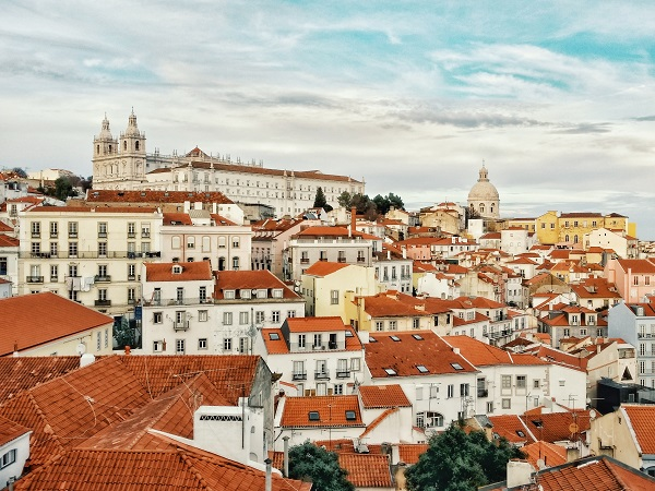 Portuguese rooftops
