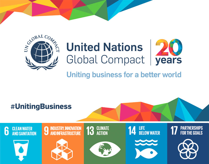 Waterworks is proud to support The United Nations Sustainability Development Goals