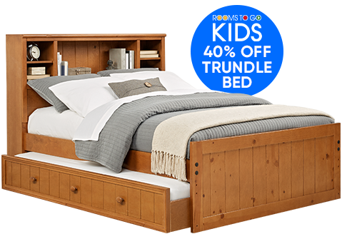 ROOMS TO GO KIDS. 40% OFF TRUNDLE BED