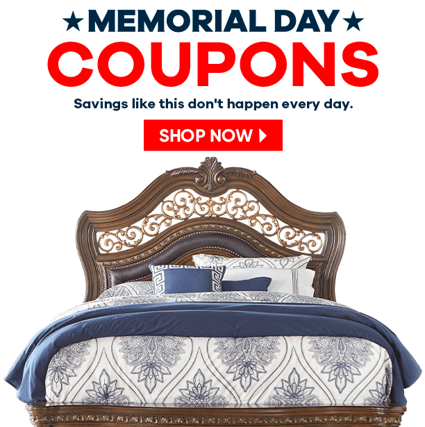 memorial day coupons. savings like this don't happen every day. shop now