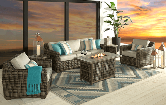 Outdoor Collections : Montecello - Seating banner section