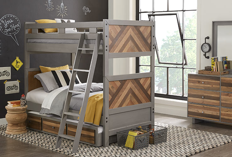 Affordable Bunk Loft Beds For Kids Rooms To Go Kids