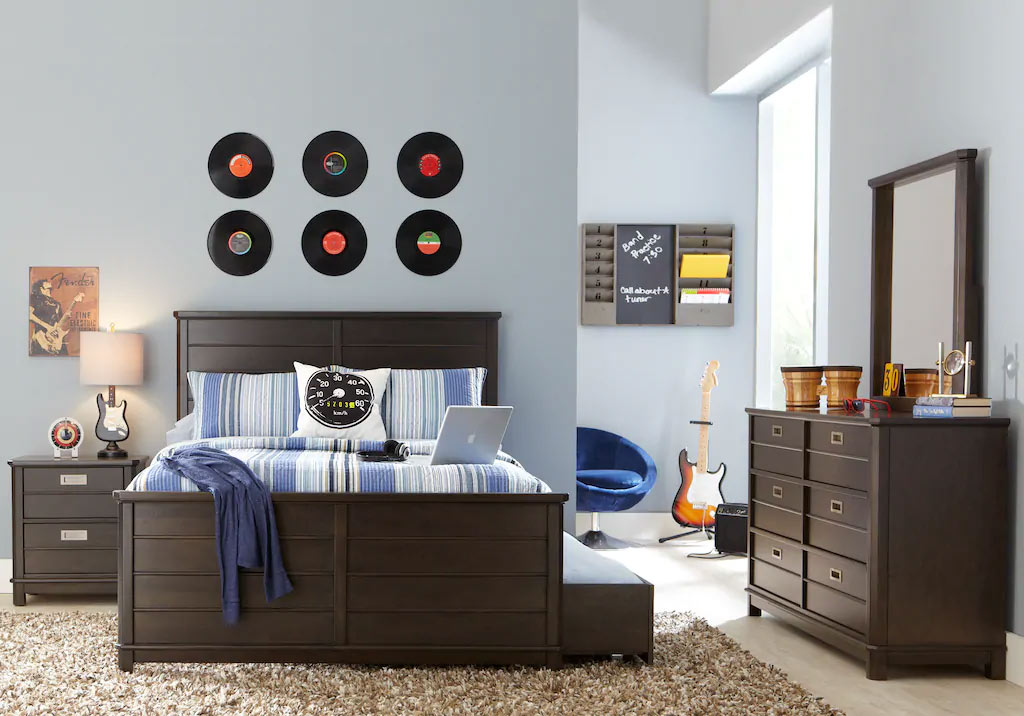 Teen boy bedroom ideas cool decor designs for teenage guys - Teen boy room ideas ...