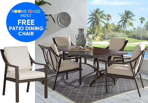 FREE Patio Dining Chair