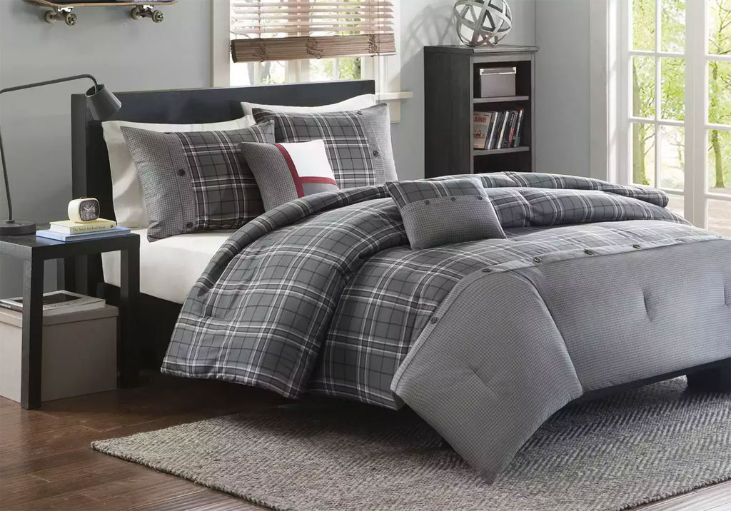 Daryl Gray 5 Pc Full Bed Set