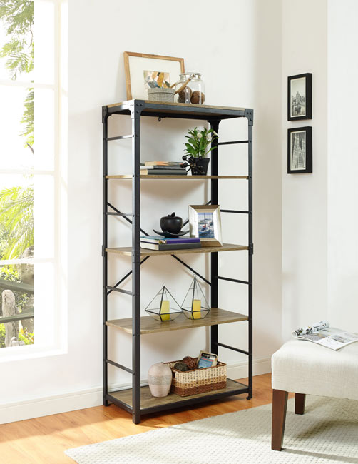 Bookcases Converve Space and Make Great Accent Shelving