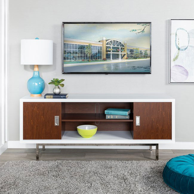 Bennet Walnut Console Table