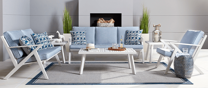 Outdoor Collections : Acadia - Seating banner section