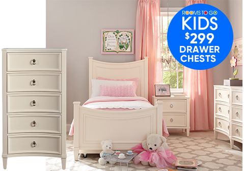 KIDS $299 DRAWER CHESTS