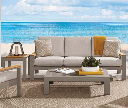 Outdoor Collections : Solana - Seating banner section
