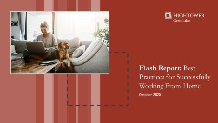 Flash Report: Best Practices for Successfully Working From Home