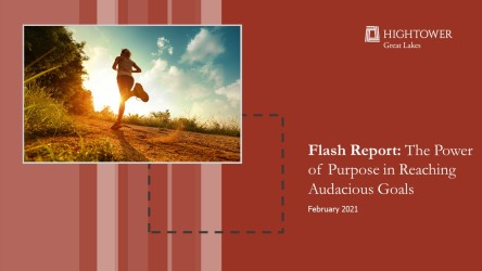 The Power of Purpose in Reaching Audacious Goals