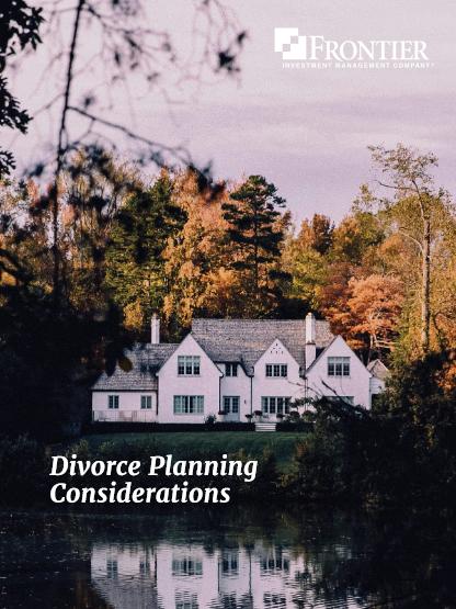 Divorce Planning Considerations