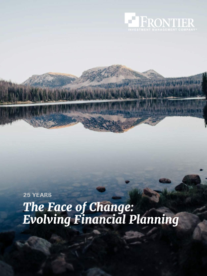 The Face of Change: Evolving Financial Planning