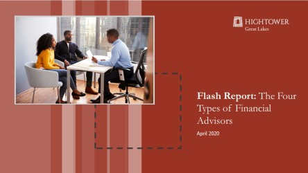 Flash Report: The Four Types of Financial Advisors
