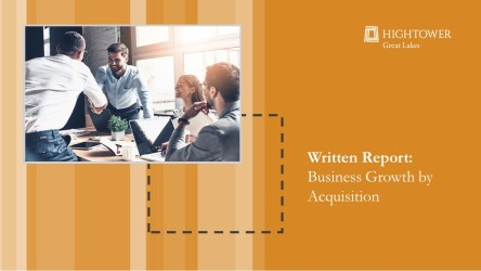 Business Growth by Acquisition