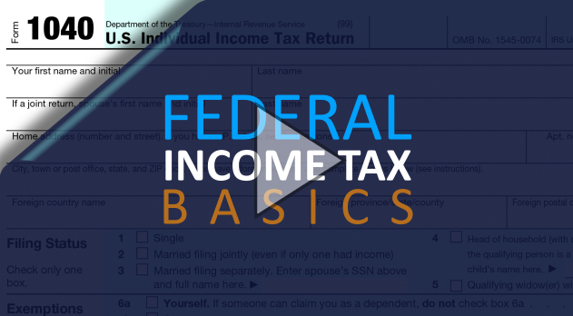 Federal Income Tax Basics