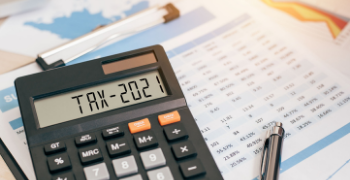 A calculator with tax 2021 reports