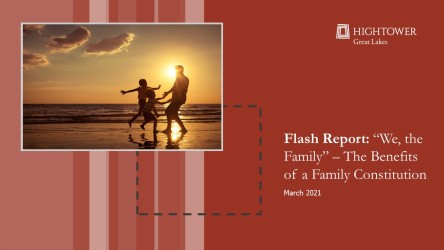 Flash Report: 'We The Family' - The Benefits of a Family Constitution