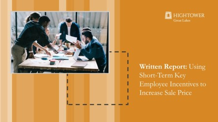 Using Short-Term Key-Employee Incentives to Increase Sale Price